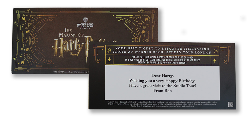 Gift Box Warner Bros Studio Tour London Official Site