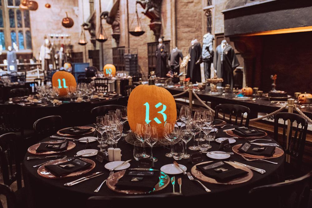 Hogwarts After Dark tables