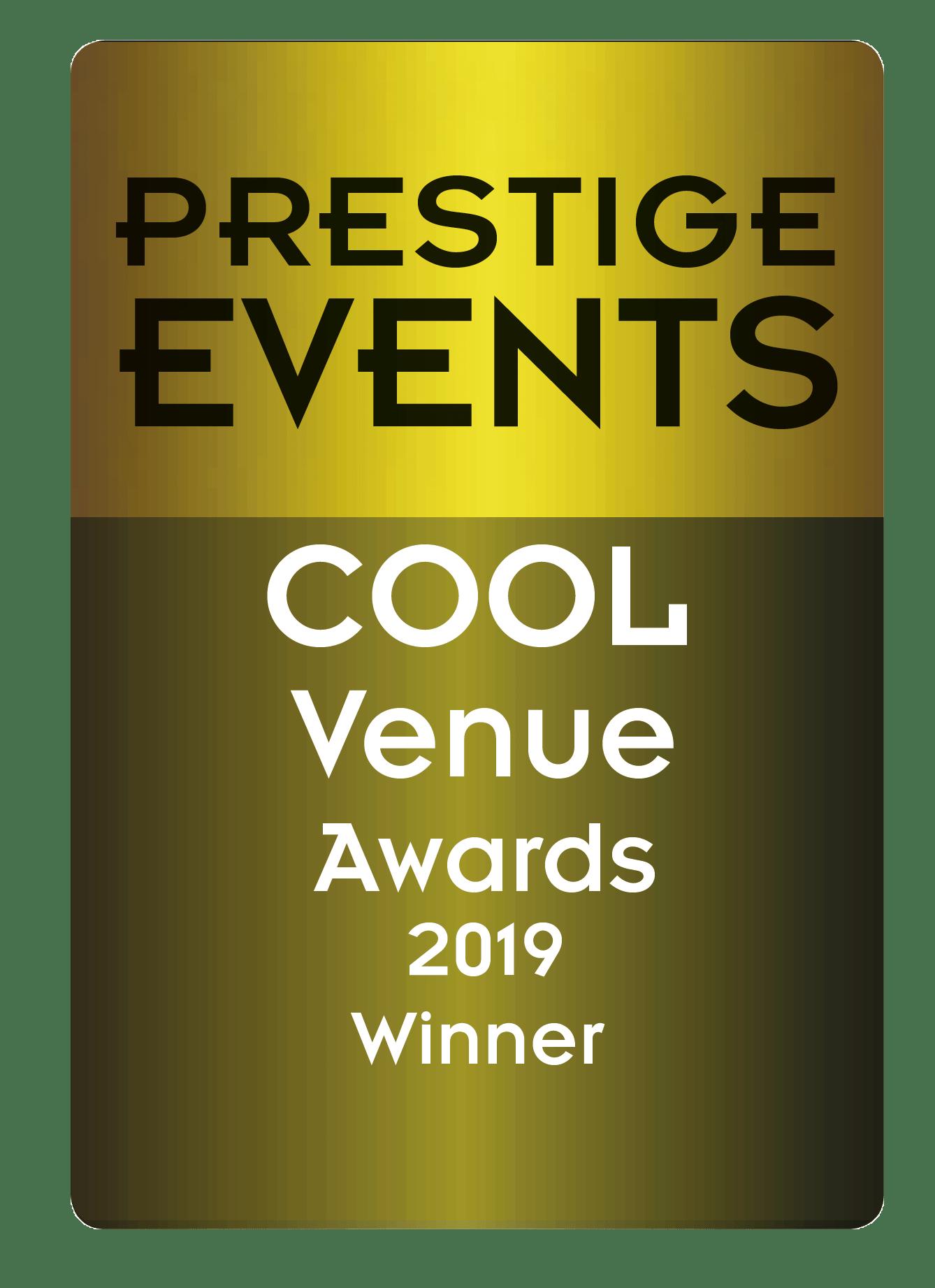 Prestige Events - Cool venue 2019 winner