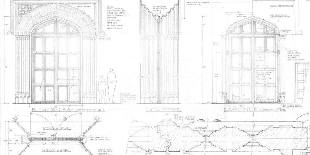 Great Hall Doors concept art