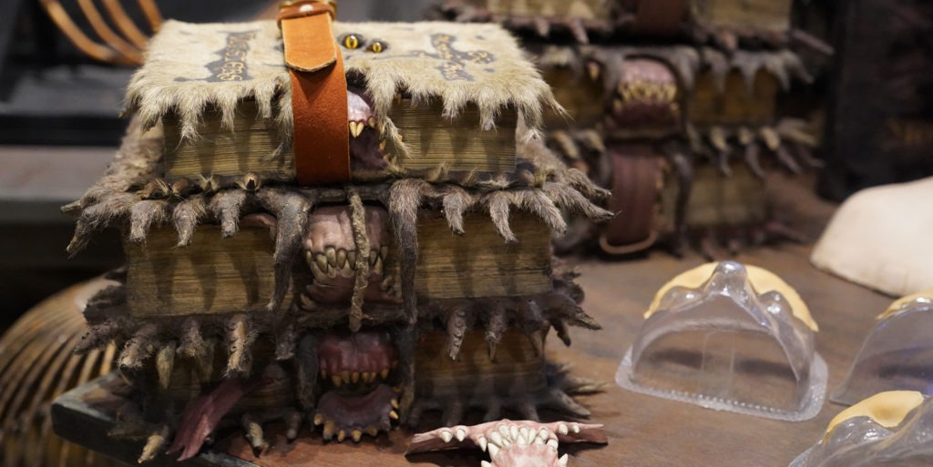 Close up of Monster Book